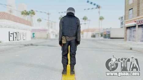 MGSV Phantom Pain Zero Risk Vest v1 para GTA San Andreas tercera pantalla