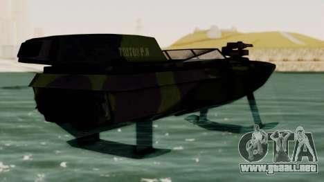 Triton Patrol Boat from Mercenaries 2 para GTA San Andreas left
