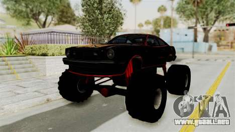 Ford Mustang King Cobra 1978 Monster Truck para GTA San Andreas