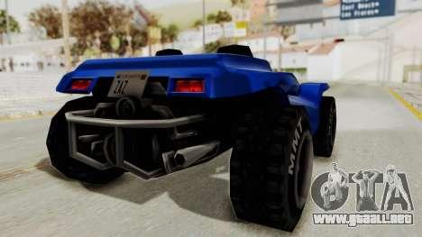 BF Buggy para la visión correcta GTA San Andreas