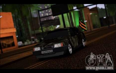 VAZ 21099 para GTA San Andreas left