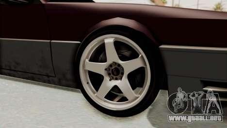 Blista CRX para GTA San Andreas vista hacia atrás