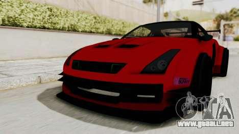 GTA 5 Annis Elegy Twinturbo No Spec para la visión correcta GTA San Andreas