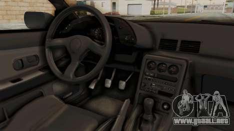 Nissan Skyline R32 4 Door para visión interna GTA San Andreas
