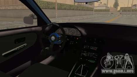Nissan Silvia Sil80 para visión interna GTA San Andreas