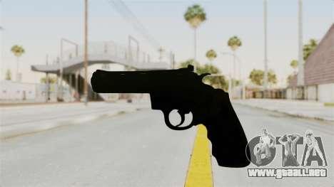 Colt .357 Black para GTA San Andreas segunda pantalla