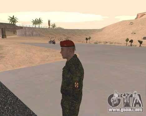 Pak Militar Ruso para GTA San Andreas octavo de pantalla