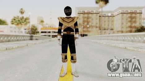 Power Ranger Zeo - Gold para GTA San Andreas segunda pantalla