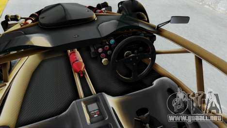 Ariel Atom 500 V8 para visión interna GTA San Andreas