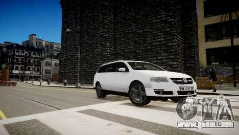 Volkswagen Passat Variant 2010 V1 para GTA 4 vista interior