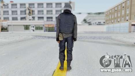 MGSV Phantom Pain Zero Risk Vest v2 para GTA San Andreas tercera pantalla