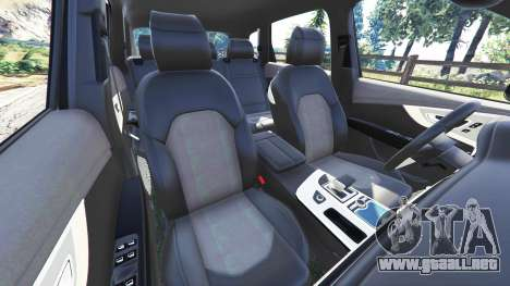 GTA 5 Audi Q7 2015 [rims2] vista lateral derecha