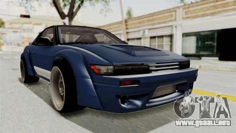 Nissan Silvia Sil80 para GTA San Andreas