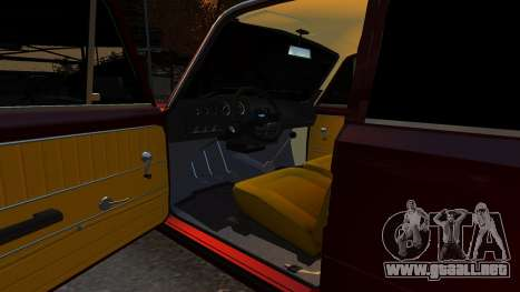 VAZ 21011 Style para GTA 4 vista interior