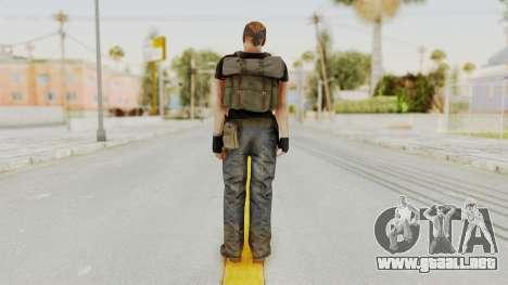 MGSV Phantom Pain RC Soldier T-shirt v1 para GTA San Andreas tercera pantalla