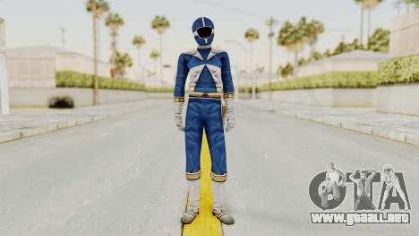 Power Rangers Lightspeed Rescue - Blue para GTA San Andreas segunda pantalla