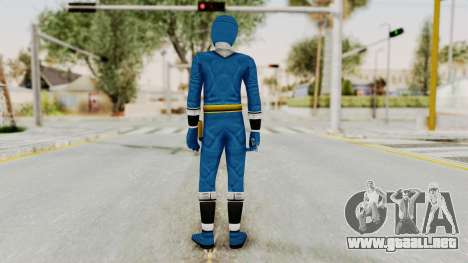 Alien Rangers - Blue para GTA San Andreas tercera pantalla