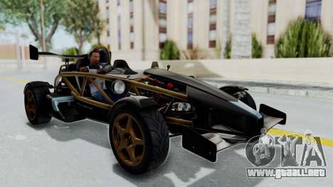 Ariel Atom 500 V8 para la visión correcta GTA San Andreas