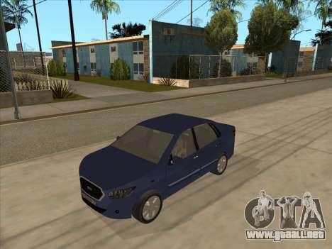 Datsun on-DO para GTA San Andreas left