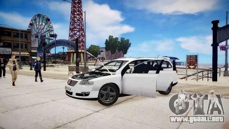 Volkswagen Passat Variant 2010 V1 para GTA 4 vista lateral