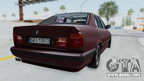BMW 525i E34 1994 LT Plate para GTA San Andreas left