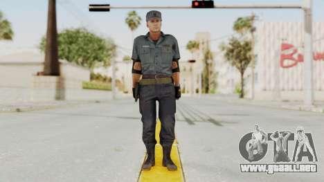 MGSV Phantom Pain Zero Risk Security Combat v2 para GTA San Andreas segunda pantalla