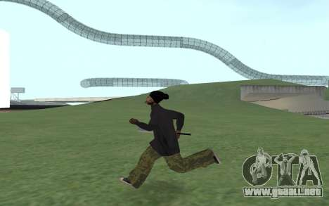 Nueva Ballas 3 para GTA San Andreas tercera pantalla