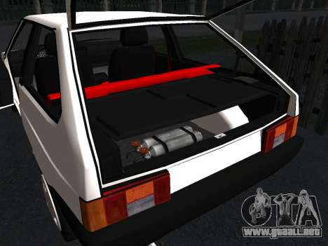 VAZ 2108 Stock by Greedy para vista inferior GTA San Andreas