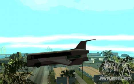 Sky Bus para GTA San Andreas left