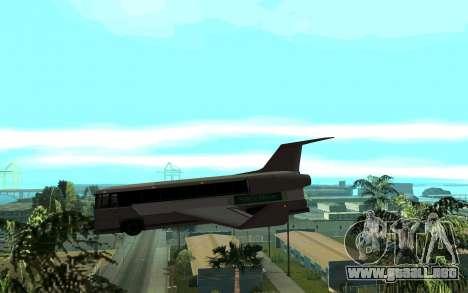 Sky Bus para GTA San Andreas left