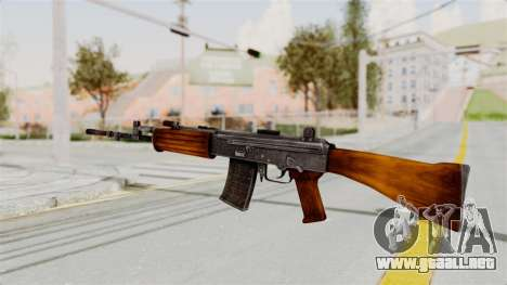 IOFB INSAS Detailed Orange Skin para GTA San Andreas segunda pantalla
