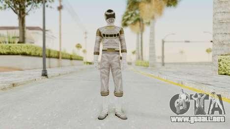 Power Rangers In Space - Silver para GTA San Andreas segunda pantalla
