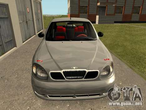 Daewoo Lanos (Sens) 2004 v2.0 by Greedy para GTA San Andreas left