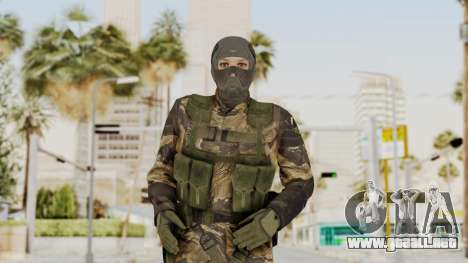MGSV TPP Diamond Dog Combat Female para GTA San Andreas