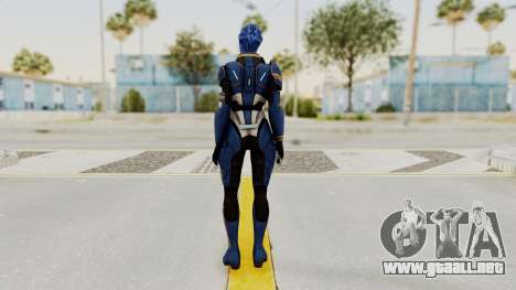 Mass Effect 2 Tesla Vasir para GTA San Andreas tercera pantalla