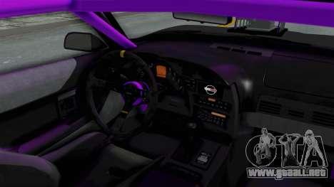 Chevrolet Corvette C4 Drag para visión interna GTA San Andreas
