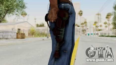 Ray Gun from CoD World at War para GTA San Andreas tercera pantalla