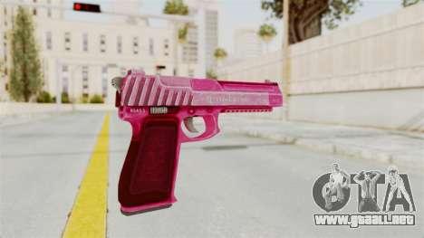 GTA 5 Pistol .50 Pink para GTA San Andreas tercera pantalla
