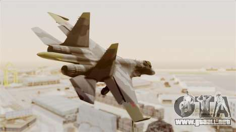SU-27 Hydra para la visión correcta GTA San Andreas