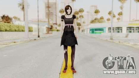 Madoka Tsukimori (Goth Version) para GTA San Andreas segunda pantalla