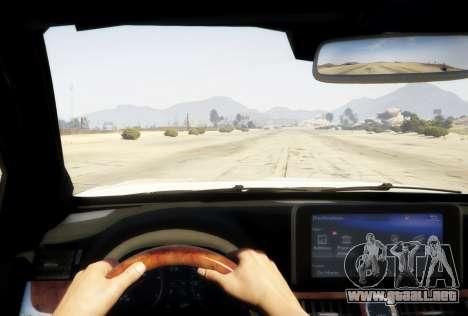 GTA 5 2016 Lexus LX 570 vista trasera