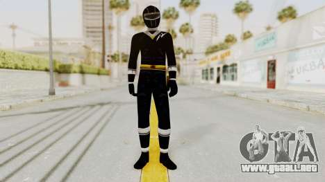 Alien Rangers - Black para GTA San Andreas segunda pantalla
