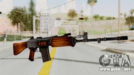 IOFB INSAS Detailed Orange Skin para GTA San Andreas