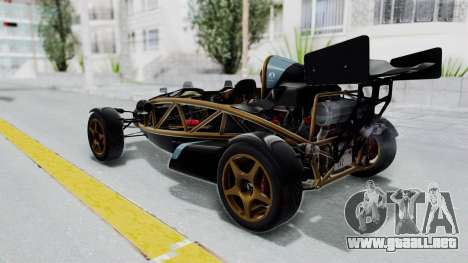Ariel Atom 500 V8 para GTA San Andreas left