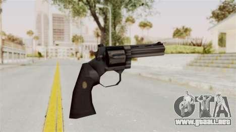 Liberty City Stories Colt Python para GTA San Andreas tercera pantalla