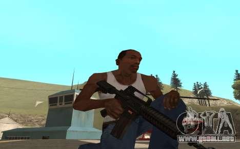 Redline weapon pack para GTA San Andreas tercera pantalla