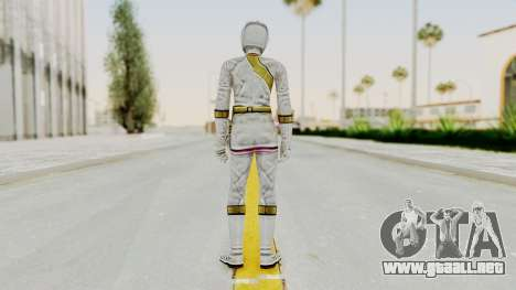 Power Rangers Wild Force - White para GTA San Andreas tercera pantalla