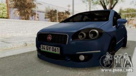 Fiat Linea 2011 para la visión correcta GTA San Andreas