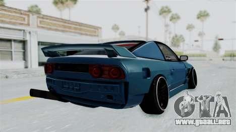 Nissan 180SX BETA para la visión correcta GTA San Andreas
