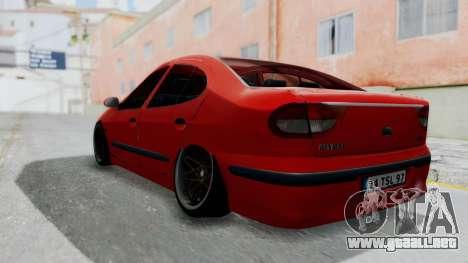 Renault Megane para GTA San Andreas left